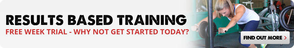 Why not get started today? Results Based Training Free Week Trial